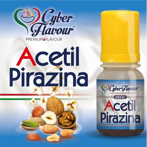 Cyber Flavour Aroma Concentrato Acetil Pirazina 10ml