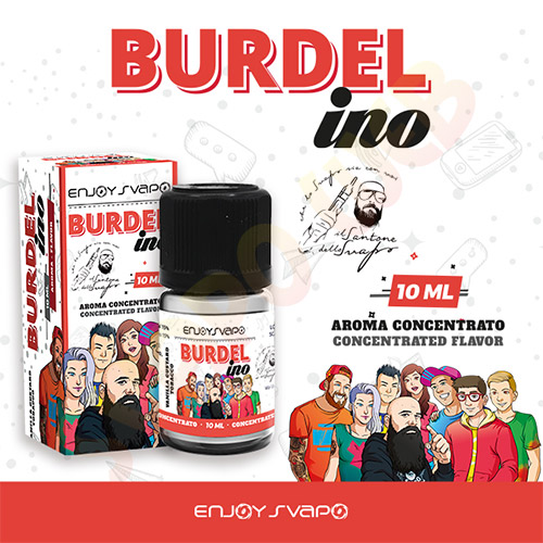 EnjoySvapo New Aroma Concentrato Burdel ino 10ml