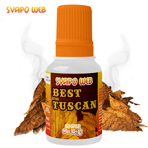 Svapoweb Aroma Mix Versione 10 +10 Best Tuscan 10ml
