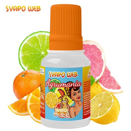 Svapoweb Aroma Mix Versione 10+10 Agrumania 10ml
