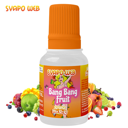 Svapoweb Aroma Mix Versione 10+10 Bang Bang Fruit 10ml