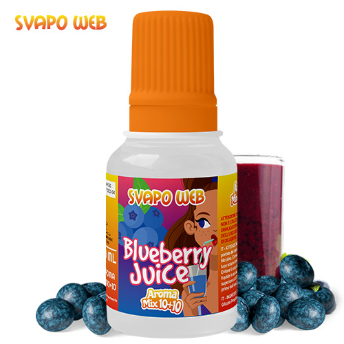 Svapoweb Aroma Mix Versione 10+10 Blueberry Juice 10ml