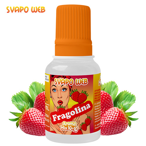 Svapoweb Aroma Mix Versione 10+10 Fragolina 10ml