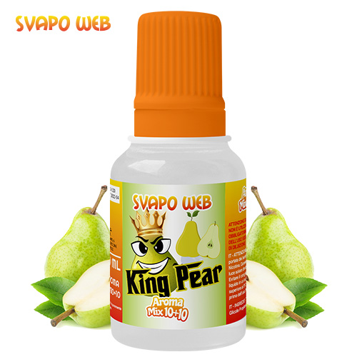 Svapoweb Aroma Mix Versione 10+10 King Pear 10ml