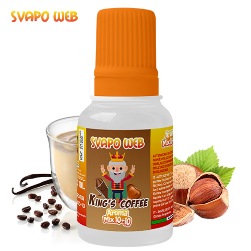 Svapoweb Aroma Mix Versione 10+10 King's Coffee 10ml