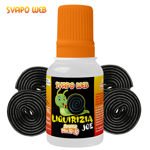 Svapoweb Aroma Mix Versione 10+10 Liquirizia JOE 10ml