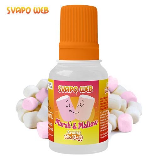 Svapoweb Aroma Mix Versione 10+10 Marsh & Mallow 10ml
