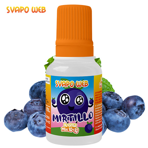Svapoweb Aroma Mix Versione 10+10 Mirtillo 10ml