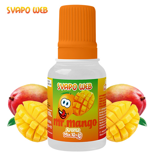 Svapoweb Aroma Mix Versione 10+10 Mr Mango 10ml