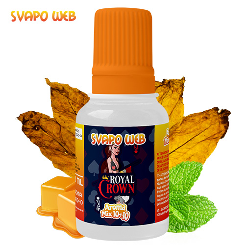 Svapoweb Aroma Mix Versione 10+10 Royal Crown 10ml