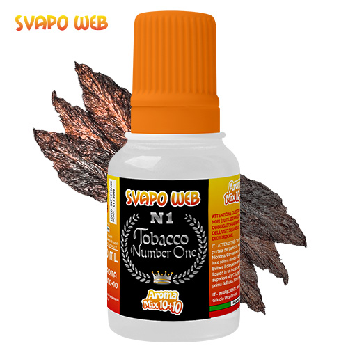 Svapoweb Aroma Mix Versione 10+10 Tobacco Number One 10ml