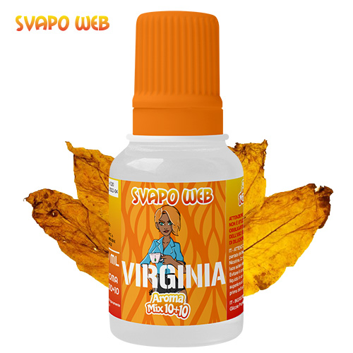 Svapoweb Aroma Mix Versione 10+10 Virginia 10ml