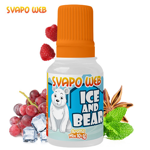 Svapoweb Aroma Formato Mix 10+10 Ice And Bear 10ml