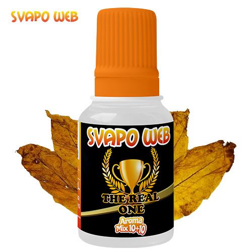 Svapoweb Aroma Mix Versione 10 +10 The Real One 10ml