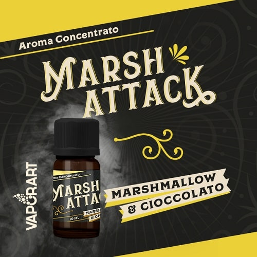 Vaporart Premium Blend Aroma Concentrato Marsh Attack 10ml