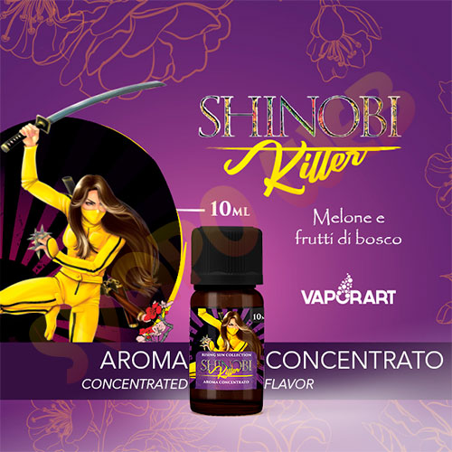 Vaporart Premium Blend Aroma Concentrato Shinobi Killer 10ml