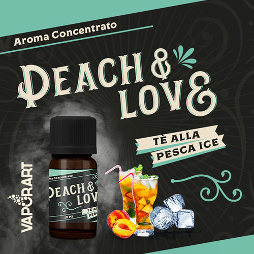 Vaporart Premium Blend Aroma Concentrato Peach e Love 10ml