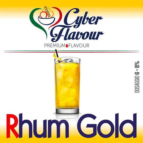 Cyber Flavour Aroma Concentrato Rhum Gold 10ml