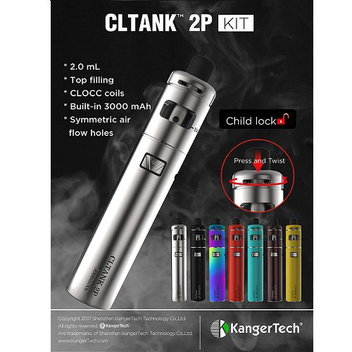 Atomizzatore Kanger CLTank 2P Rosso