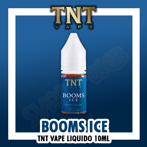Liquido TNT Vape BOOMS Ice 4mg Nicotina 10ml