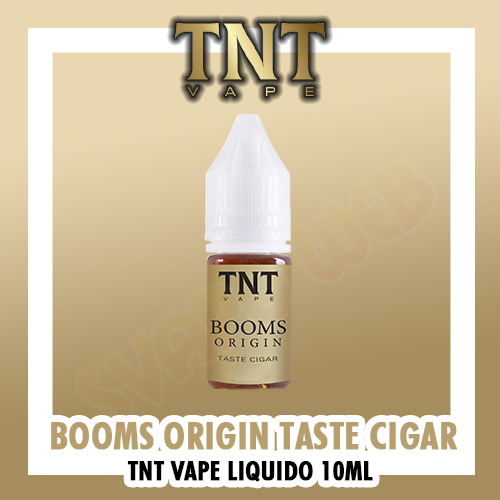 Liquido TNT Vape BOOMS Origin 4mg Nicotina 10ml