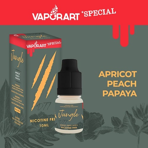 Liquido Vaporart Special Jungle 4mg Nicotina 10ml