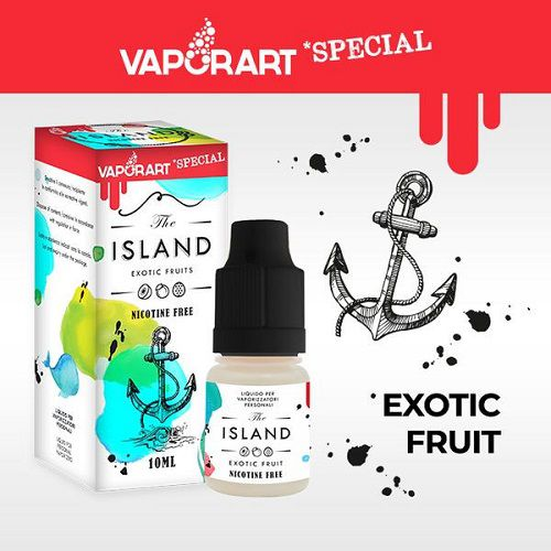 Vaporart The Island 10ml 4MG