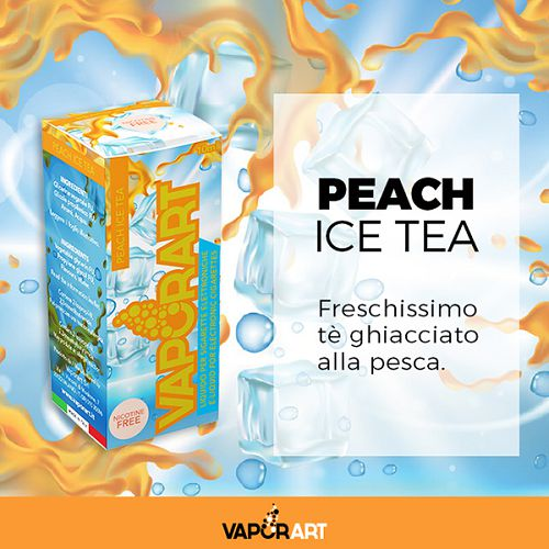 Peach Ice Tea Senza Nicotina