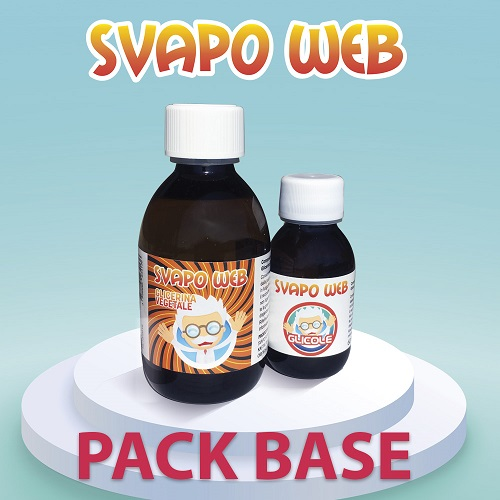 Svapoweb Pack Base 200ml 50VG/50PG senza nicotina