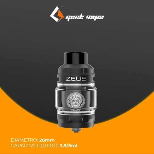 Geekvape Zeus 2ml Black