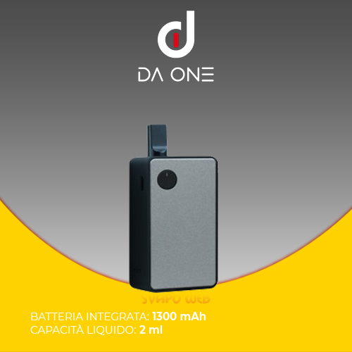 E-Cig Da One HexComb 1300mAh 2ml Solid Dark Grey