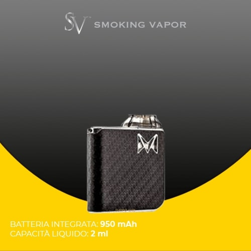 Smoking Vapor Mi Pod Gentleman black carbon fiber