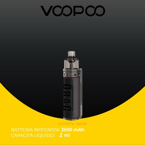 Kit VOOPOO Drag S 2ml 2500mAh 60w Classic