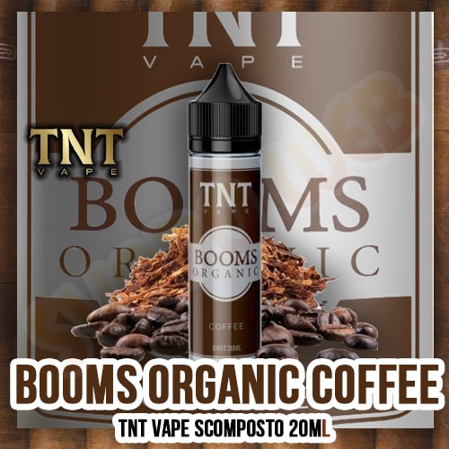 TNT Vape Booms Organic Coffee Aroma Scomposto 50ml