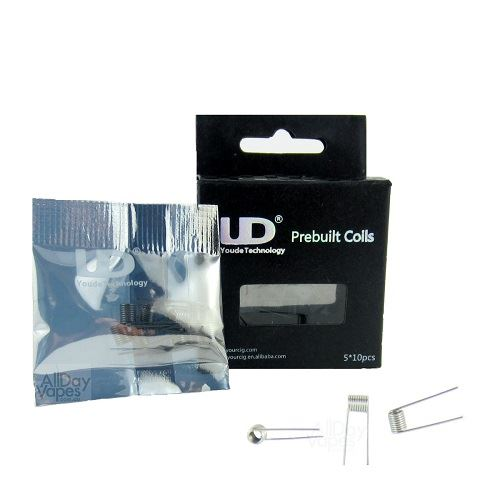 Youde - Kanthal Coil pronte all'uso 22GA 0,2ohm 10 pezzi
