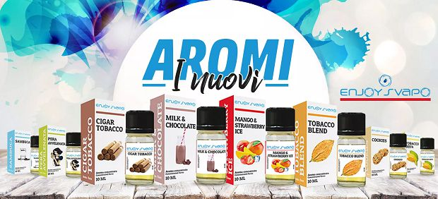 aromi enjoysvapo new 10ml