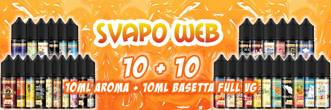 banner aromi svapoweb mix 10+10 10ml