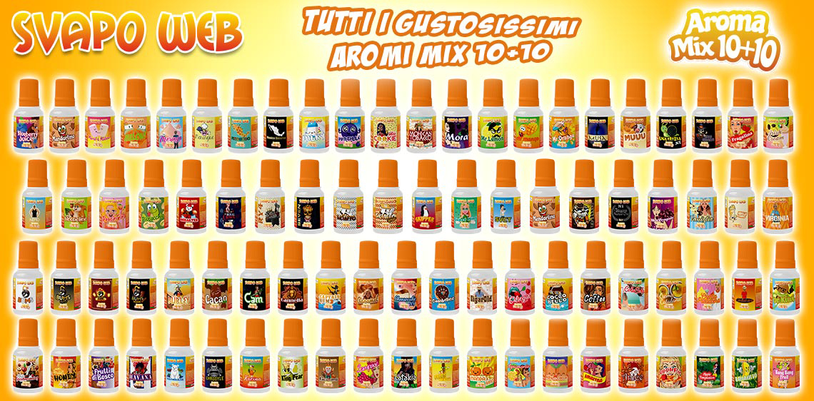 banner svapoweb aromi mix 10ml