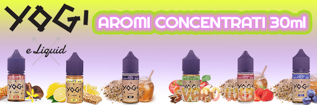 aromi concentrati 30ml yogi