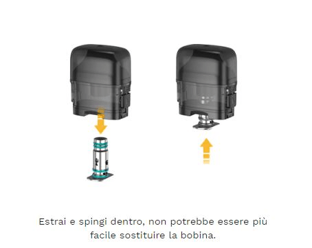 kit aspire breeze nxt come sostituire la coil