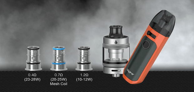 kit aspire tigon aio coil compatibili
