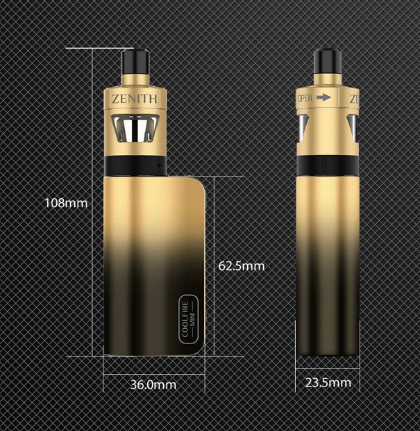 kit innokin coolfire mini zenith dimensioni