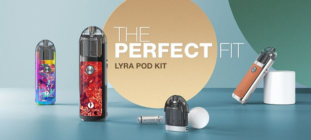 kit lost vape lyra banner