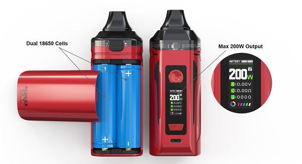 kit artery nugget gt dual battery caratteristiche