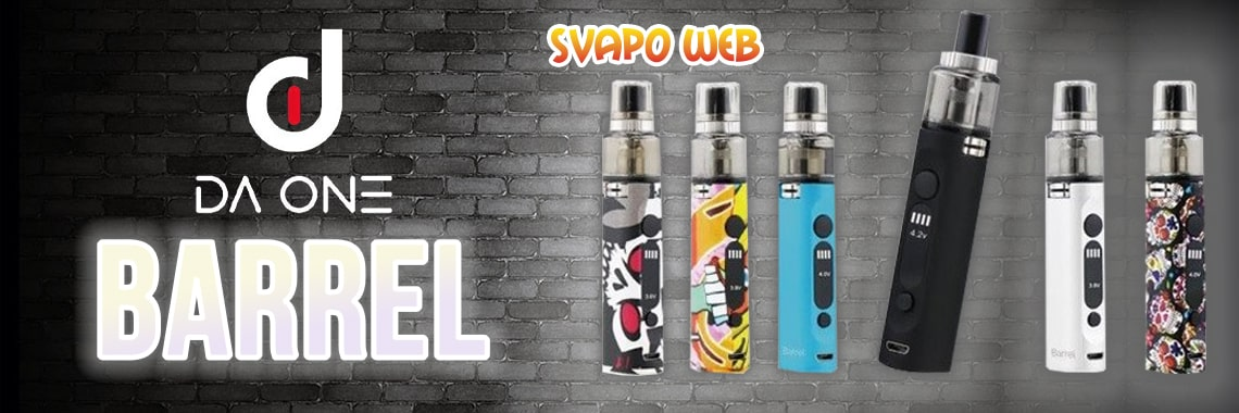 banner svapoweb kit da one barrel 900mah