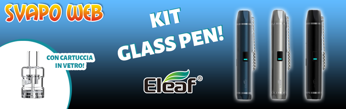banner svapoweb kit eleaf glass pen podmod 650mah