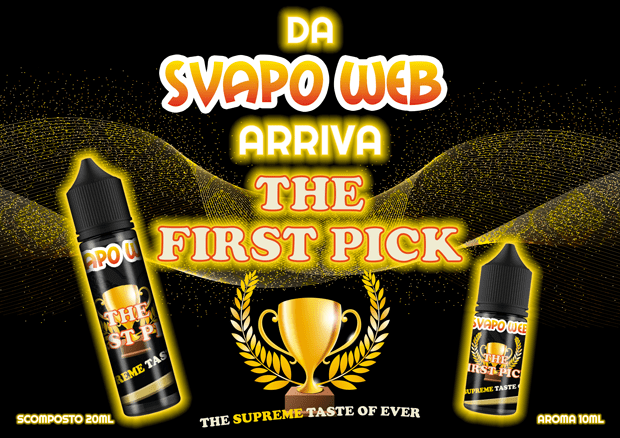 aroma scomposto svapoweb the first pick 20ml banner